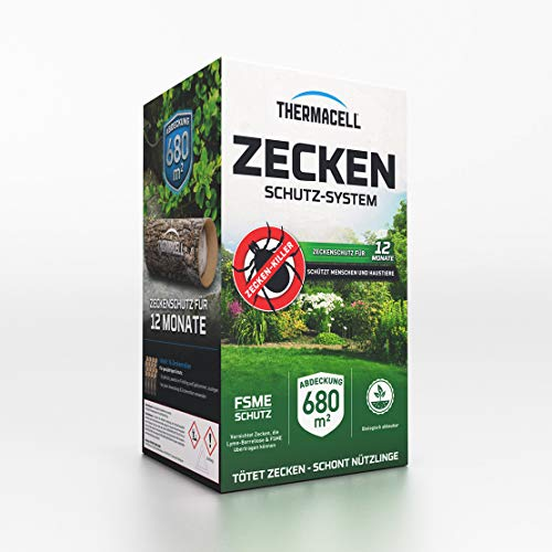 Thermacell Zeckenschutzsystem 16er Pack - Zeckenschutz - inklusive Rasch Mückenfreipapier