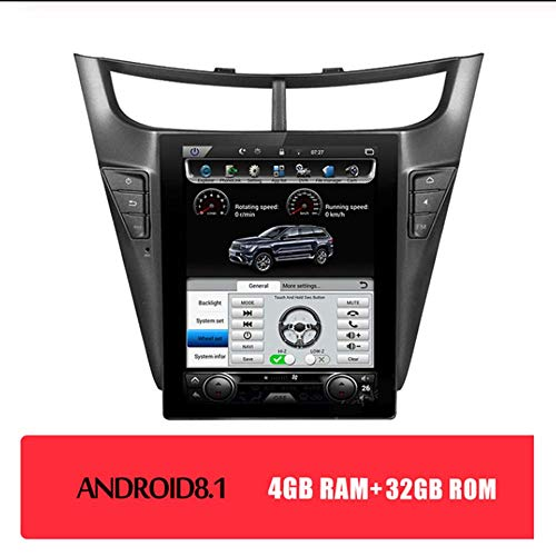 Sale!! Tlyd 10.4 Inch 1Din Android 8.1 Car Stereo Radio Supports Bluetooth/WiFi / 4G / HD/Steering W...