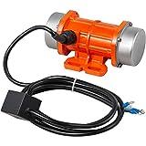 VEVOR AC Concrete Vibrator 110V, Motor Vibrating Motor 30W Single Phase AC Electric Vibrating Motor Aluminum...