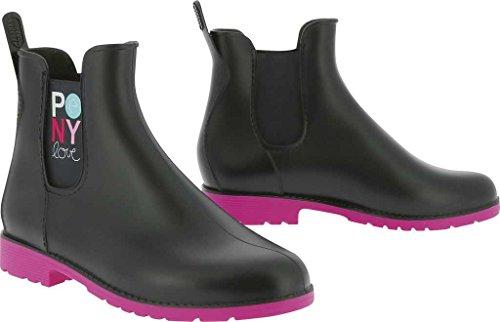 Equi-Theme Pony Love Jodhpur-Stiefel für Kinder, PVC, Synthetik, navy, EU 33