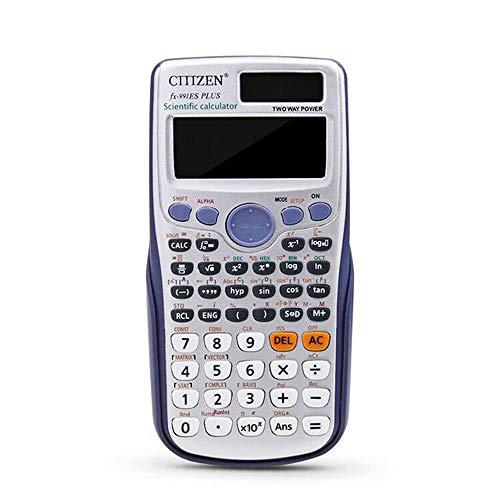 Aibecy FX-991ES-PLUS Calculadora científica 417 funciones Pantalla LCD grande para estudiantes universitarios de secundaria y uso de oficina