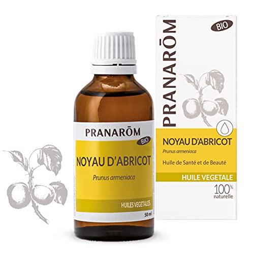Pranarôm   Noyau d'Abricot Bio   Huile Végétale   Contient Les Vitamines A et E   50 ml