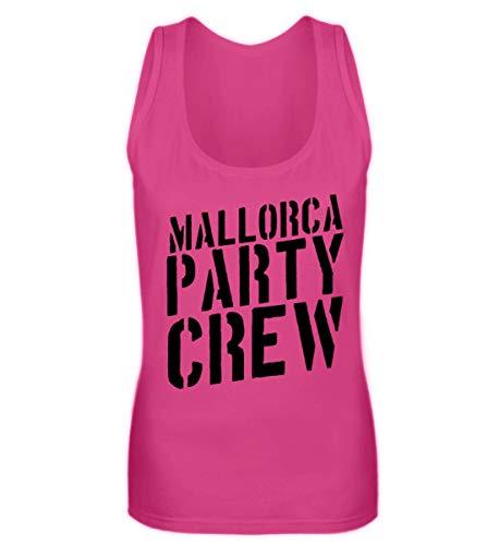 Mallorca Party Crew - Lustiges Saufen Feiern Sprüche T-Shirt für Partyurlaub auf Malle - Frauen Tanktop