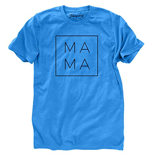 Inkopious Modern Mama - Camiseta de Manga Corta - Azul - X-Large