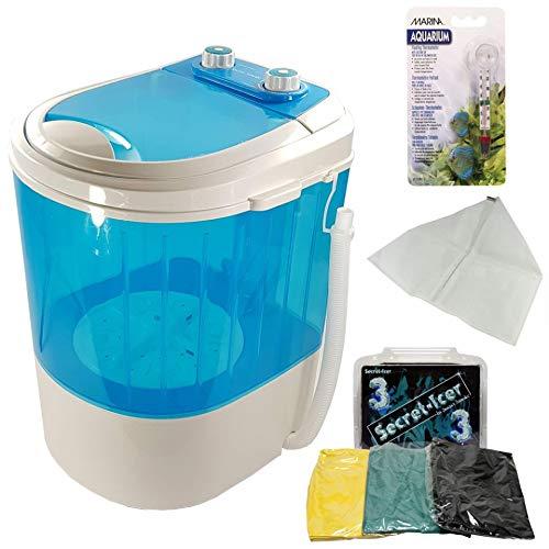 Secret Smoke – Waschmaschine zum Entfernen von Kaltharzen (Ice Washer Harz Extraction) + Taschen-Set für 3 Beutel – mit 3 Taschen