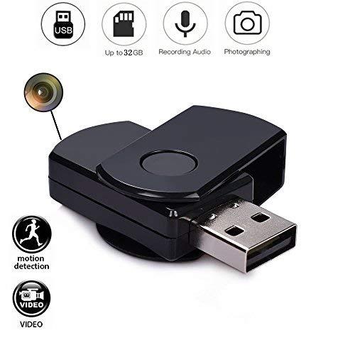 Codomoxo Schlüsselanhänger, USB, mit Mini-Spionagekamera HD