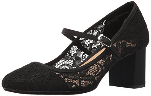 CL by Chinese Laundry Women's Anslee Mary Jane Pump, Black Floral Lace, 6 M US