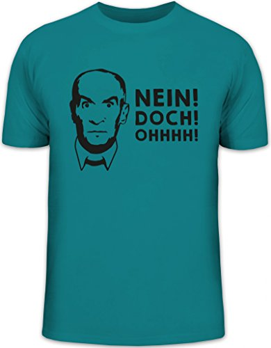Shirtstreet24, Nein! DOCH! Ohhhh! Herren T-Shirt Herrenshirt Funshirt, Größe: XL,Diva
