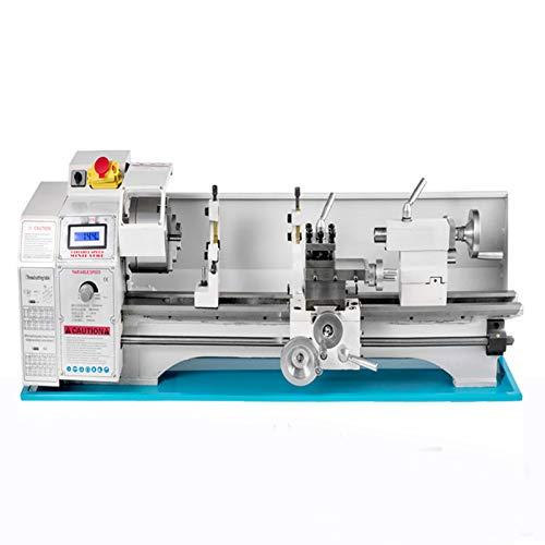 Mini Lathe 1100w Metalldrehmaschine mit variabler Geschwindigkeit Digitalanzeige Lathe 220X750mm