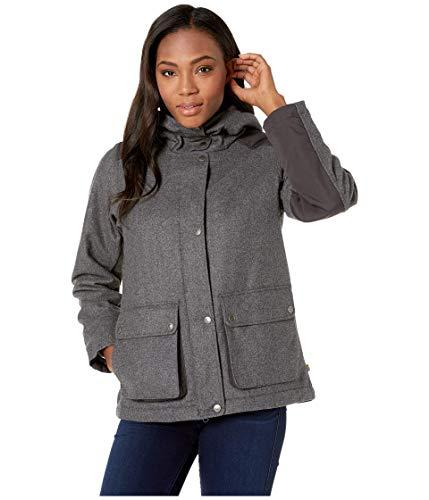 FJALLRAVEN Greenland Re-Wool Jacket W Veste Femme, Gris, L