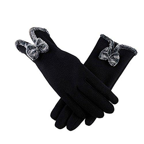 Gants Chauffants Tactiles Femme Gants Tricot/és Chauds Antid/érapants pour Sports de Plein Air /équitation Moto Cyclisme Patinage Course /à Pied arteesol Gants Hiver Homme