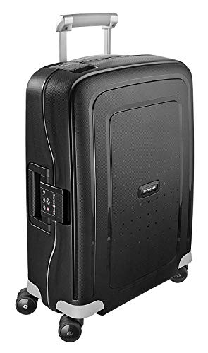Samsonite S'Cure - Spinner S Hand Luggage, 55 cm, 34 Litre, Black