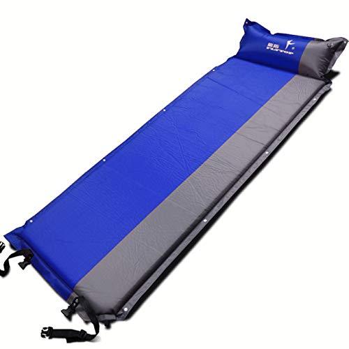 Aiong Colchoneta de Playa, 65 * 5cm colchón Inflable automático para una Sola Persona colchón de Playa para Acampar al Aire Libre Pesca en