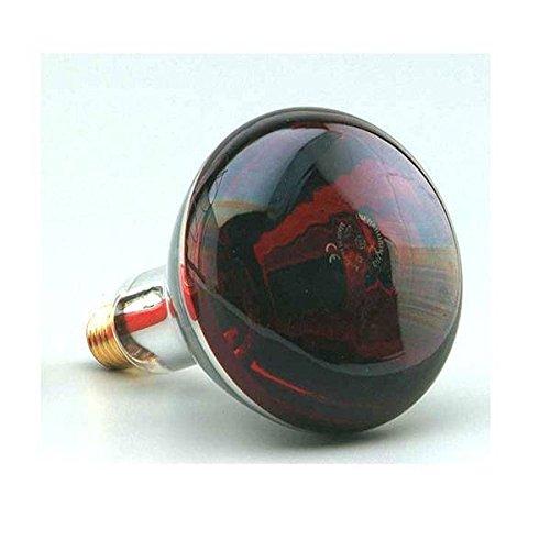 Infrarot-Lampe 250W Rosca. E27 220-240V. rotes Licht. Es gibt Wärme.