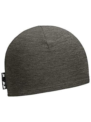 ORTOVOX Fleece Light Beanie Baskenmütze, grau (Dark Grey Blend), Einheitsgröße