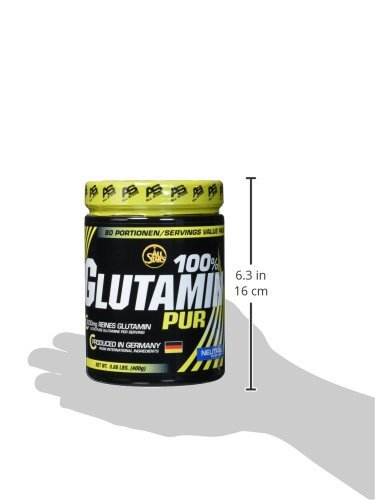 All Stars 100% Glutamin Pur, 1er Pack (1 x 400 g) - 6