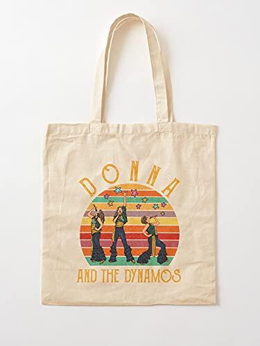 Genérico Mia and Mamma Vintage Dynamos Donna The   Bolsas de lona con asas, de algodón duradero