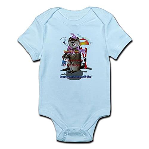 ABADI Groundhog Day-6 More Week Body pour bébé - Blanc - 12 mois