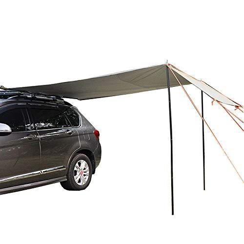 FU LIAN Autocampingzelt, tragbare multifunktionale Markise auf dem Dach, verdickt, kann als Picknickmatte verwendet Werden, stark und langlebig, für Picknick Camping Beach/Green