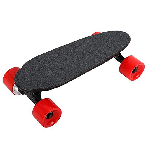 Mini Caster Electric Board Longboard Skateboard Skateboard 18 MPH maximumsnelheid 15 Miles Range Max 250 W Streetboard Cruiser, Maple Remote motorbesturing, uniek geschenk Afneembare accu 8ba