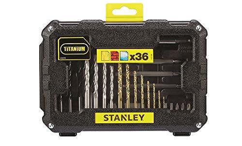 Stanley FatMax STA7222-XJ Juego de 36 piezas para taladrar y atornillar