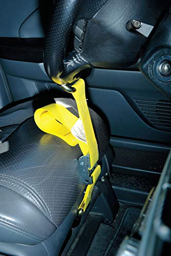 Steering Wheel Lock, Claw Style, Polyester