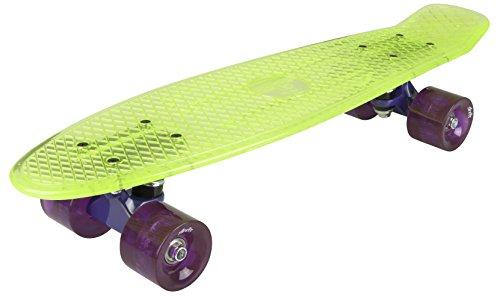 AREA Skateboard-Komplettset gelb Einheitsgröße