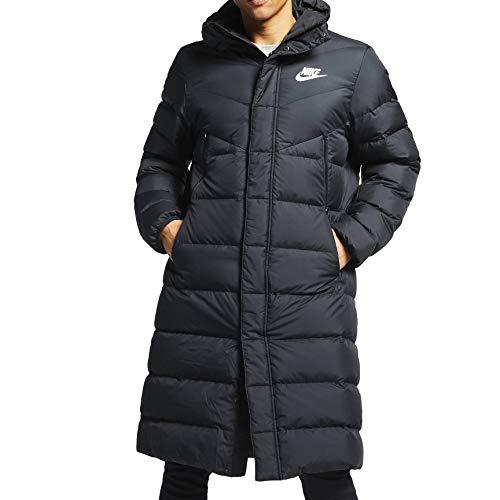 Nike Mens Windtunner Down Fill Hooded Puffer Parka Jakcet AA8853-010 Size 2XL