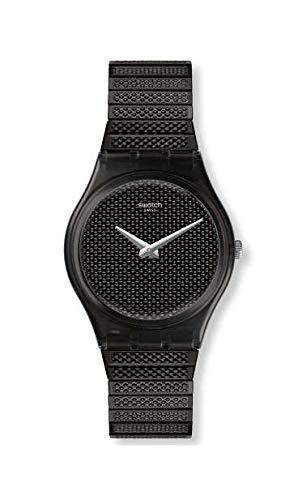 Swatch Orologio Analogueico Quarzo Donna con Cinturino in Acciaio Inox GB313A