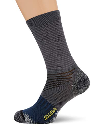 Salewa Trek N Sk Socken, Prince Blue/Asphalt, 44-46