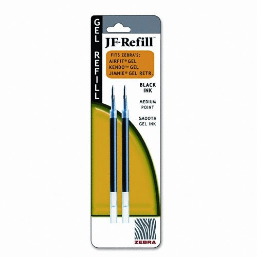 ZEB87012 - JF Refill for Jimnie Gel RT/Sarasa/Z-Grip Gel Roller Ball -  ZEBRA PEN
