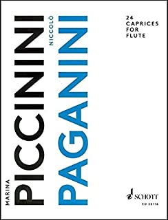 Paganini 24 Caprices For Flute