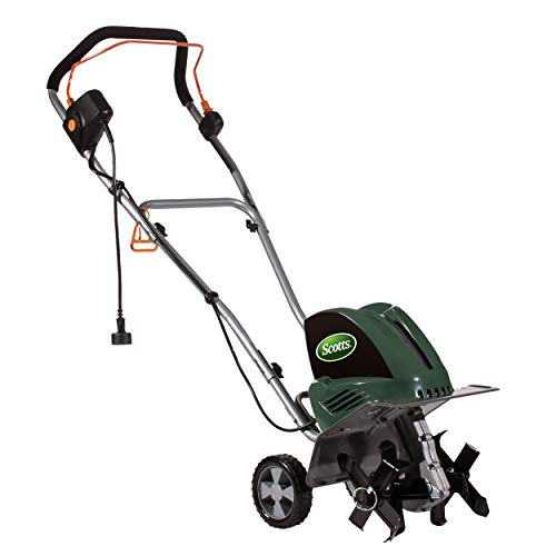Great Features Of Scotts Outdoor Power Tools Corded Tiller/Cultivator, Green