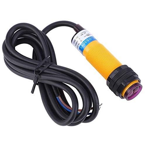 Sensores fotoeléctricos 10 Piezas de reflexión difusa Estable 90-250 VCA Normalmente Abiertos para máquinas Herramientas