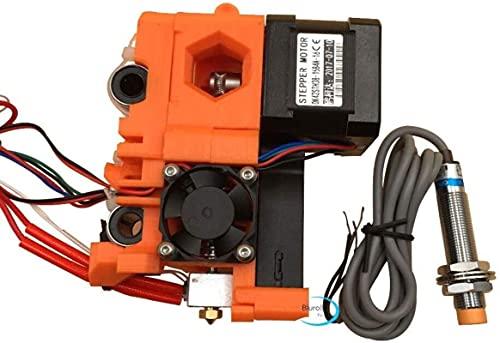 Per kit completo estrusore Reprap Prusa i3 MK2, con hotend, carrello X, sonda PINDA Parti stampate PLA estrusore prusa i3 mk2s Parti della stampante