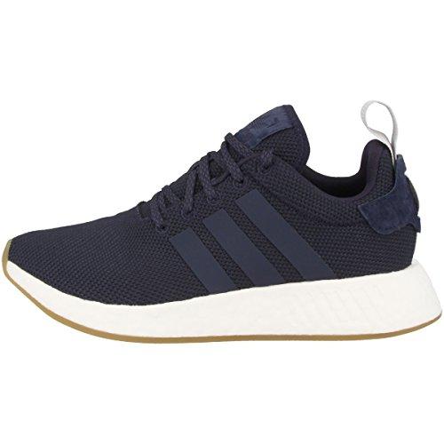 adidas NMD_R2 W, Zapatillas de Deporte para Mujer, Azul (Tinley/Azutra/Gridos), 36 2/3 EU