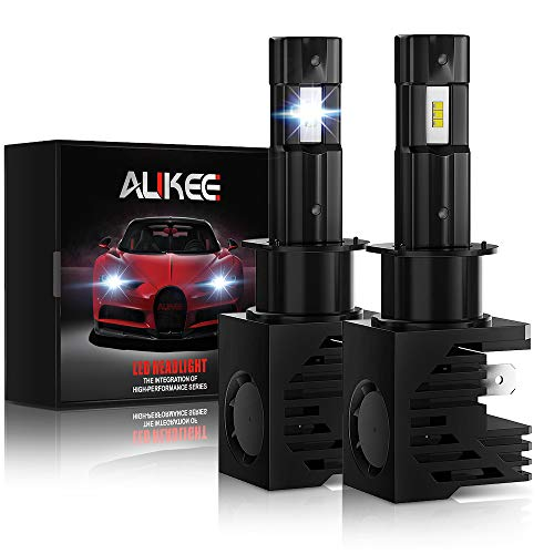 Aukee H1 LED Bulb 12000Lm 6000K 60W Extremely Bright All-in-One Headlight Conversion Kit