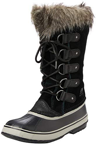 Sorel Women's Joan of Arctic Boots, Black/Quarry, 10 Medium US