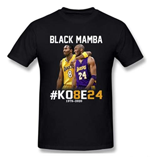 Our Best Kobe 8 and 24 Our Hero Black Mamba Men