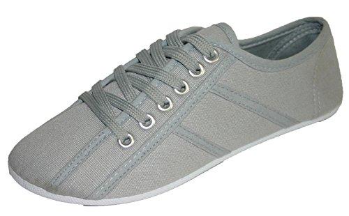 Dunlop Women's Girl's Sneaker Pumps Espadrille Plimsoll Plimsole Shoes (3...