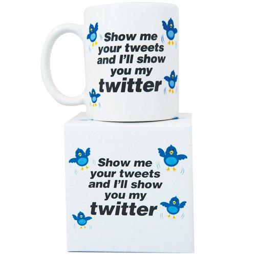 Novelty \'Twitter\' mug