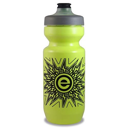 NGN Sport - Purist Water Bottle | Premium Bike Water Bottle with Leak Proof Watergate Cap - 22 oz (1-Pack) (Lemon Lime)