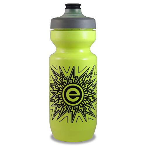 NGN Sport - Purist Water Bottle | Premium Bike Water Bottle with Leak Proof Watergate Cap - 22 oz (1-Pack) (Lemon Lime)