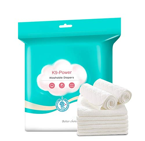 K9-Power Baby Diapers Newborn Washable Three-Layer Diapers