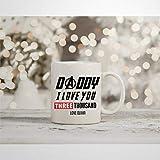 Taza de café inspirada en Tony Stark Iron Man de Marvel Endgame Daddy I Love You 3000