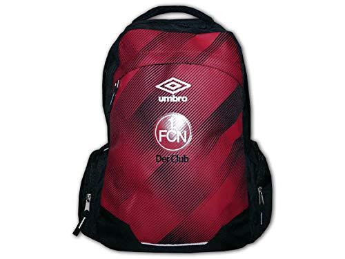 UMBRO 1. FC Nürnberg Fan Rucksack rot FCN Fußball Backpack Bundesliga Daybag