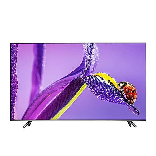 OCYE 50 Zoll Smart TV 4k gebogenes Computer-Display, Fernseher mit WiFi-Netzwerk, kompatibler LED-Smart-TV, Handy-Projektion, USB 2.0-Eingang