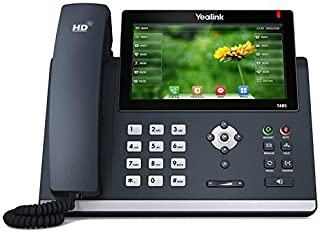 Yealink T48S Ultra-Elegant Gigabit IP Phone (Power Supply Not Included) (Renewed)