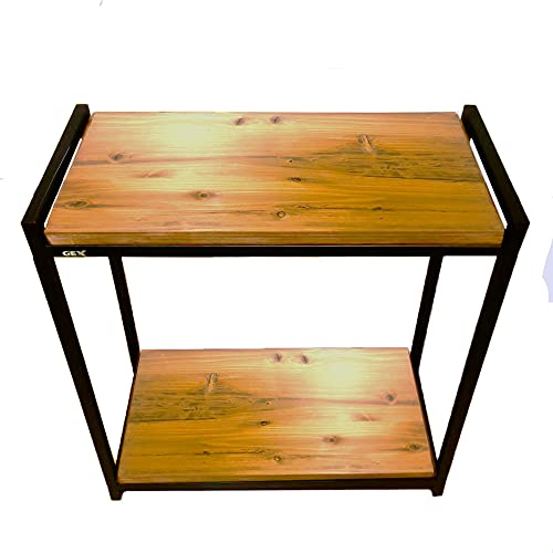 Goldlife 水槽台用木板1枚 台は別売り 【ジェックス スチールスタンド60cm 2段台 組立式水槽台 に対応可能】 塗装済み 奥行き約31cmでジャストサイズ 水槽台ボード けやきカラー