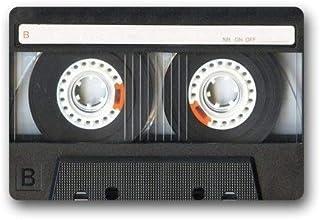 ZMvise Alfombra de franela personalizada Cassette Tapetes Home Doormats Top Tela Goma Baño Esteras de Bienvenida Alfombras...